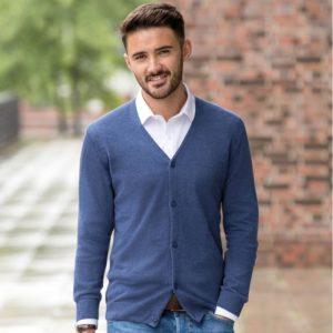 715M v neck knitted cardigan Cressco