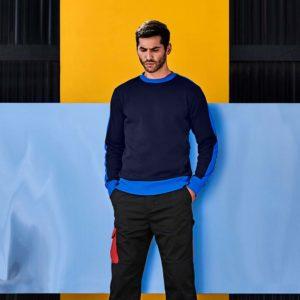 Branded Contrast Sweatshirts