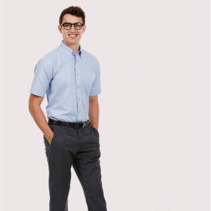Uneek UC702 Oxford Half Sleeve Shirt Cressco