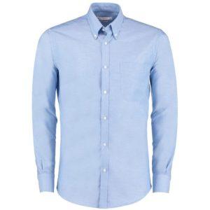 Kustom Kit KK184 Long Sleeve Slim Fit Workwear Oxford Shirt Cressco