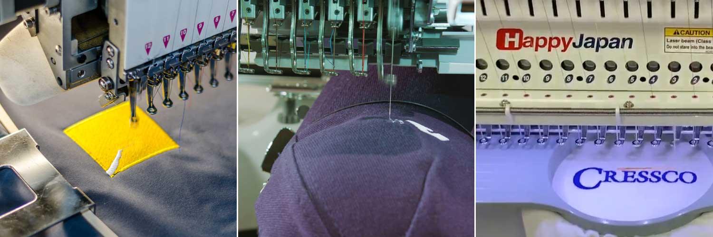 Hi Vis Workwear Embroidered Logos