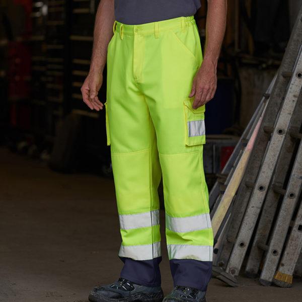 PRO RTX RX760 Hi-Vis Cargo Trousers Cressco